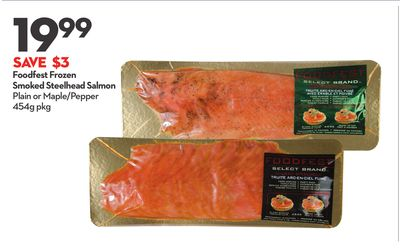 Foodfest Frozen Smoked Steelhead Salmon