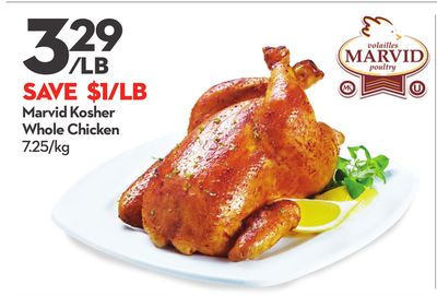 Marvid Kosher Whole Chicken