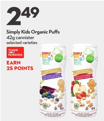 Simply Kids Organic Puffs