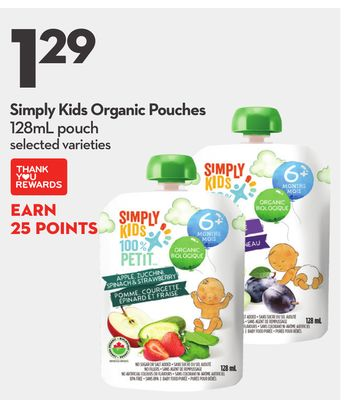 Simply Kids Organic Pouches