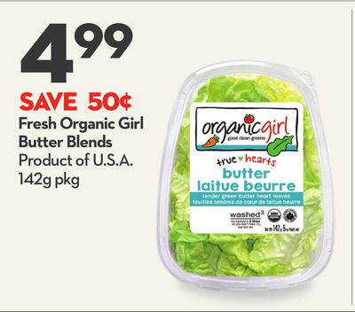 Fresh Organic Girl Butter Blends