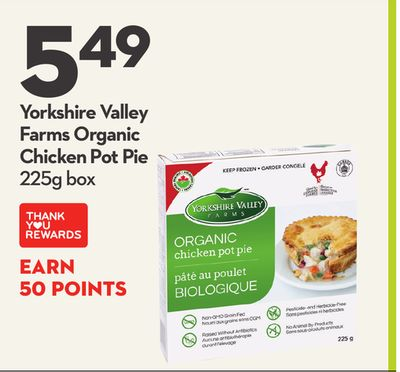 Yorkshire Valley Farms Organic Chicken Pot Pie