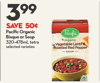 Pacific Organic Bisque or Soup