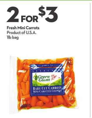 Fresh Mini Carrots