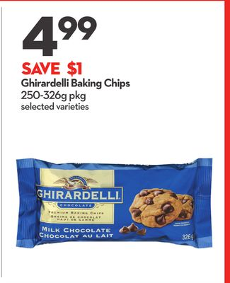 Ghirardelli Baking Chips