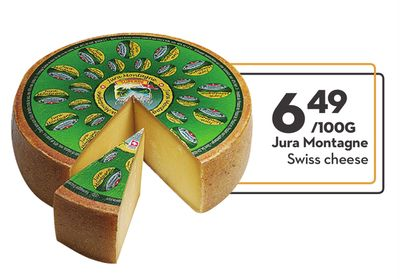 Jura Montagne Swiss Cheese