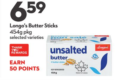 Longo's Butter Sticks