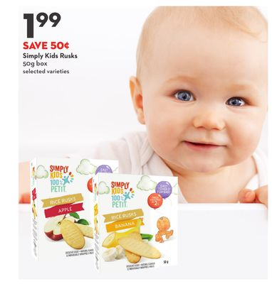 Simply Kids Rusks