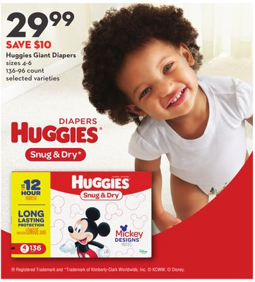 Huggies Giant Diapers