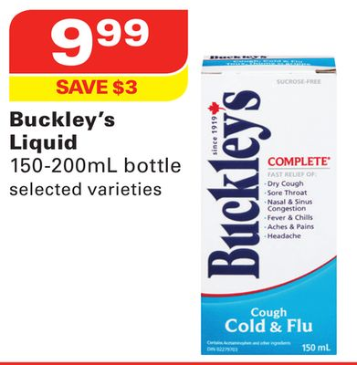 Buckley's Liquid