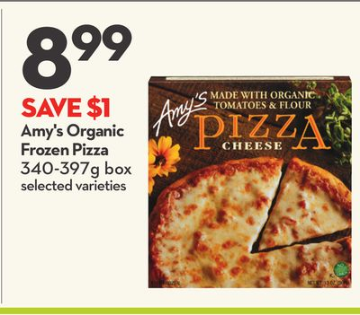 Amy's Organic Frozen Pizza