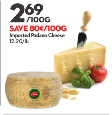 Emma Imported Padano Cheese