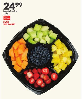 Longo's Fruit Tray