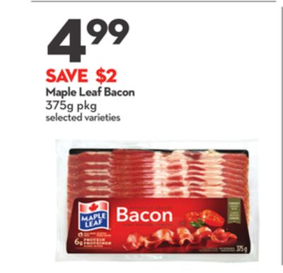 Maple Leaf Bacon