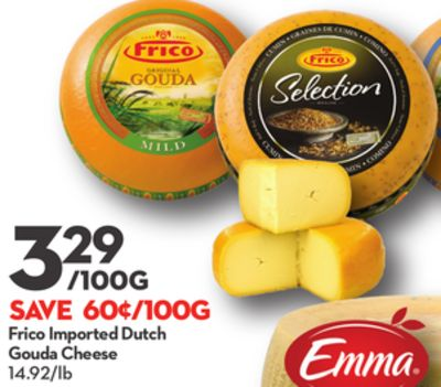 Frico Imported Dutch Gouda Cheese