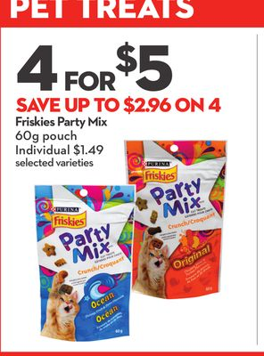 Purina Friskies Party Mix