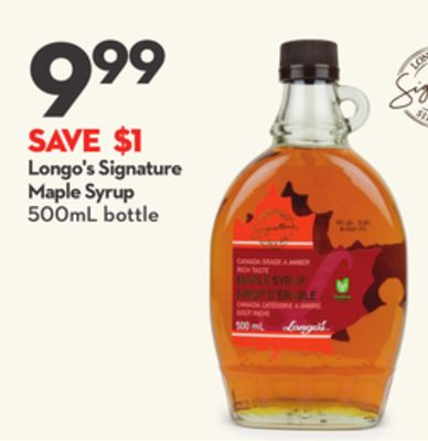 Longo's Signature Maple Syrup