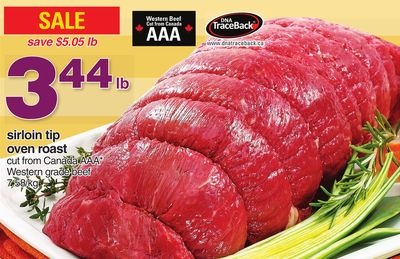 how to cook sirloin tip roast oven