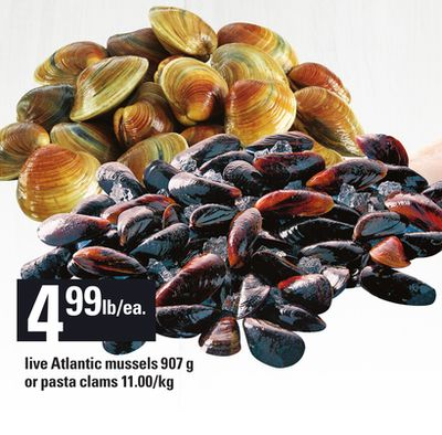how to clean clams for pasta