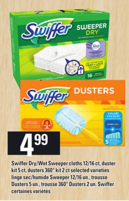 Swiffer Dry Wet Sweeper Cloths On Sale Salewhale Ca