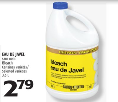 eau de javel 3 6 l on sale