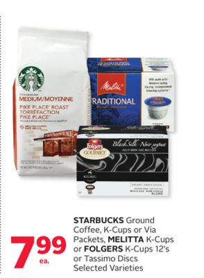 starbucks ground coffee k cups or on sale. Black Bedroom Furniture Sets. Home Design Ideas