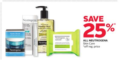 All Neutrogena Skin Care