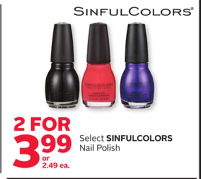 sinfulcolors nail polish - Vernis Sinful Colors