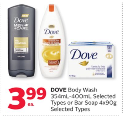 Dove Body Wash