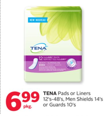 Tena Pads Or Liners