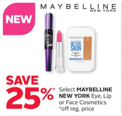 Maybelline New York Eye - Lip or Face Cosmetics