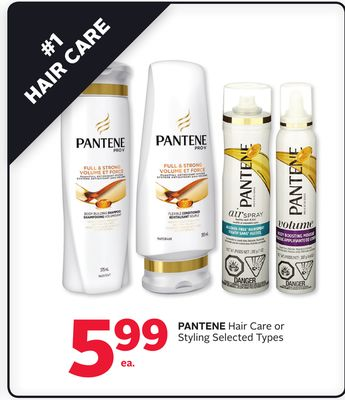 Pantene Hair Care or Styling
