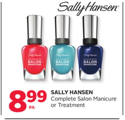 Sally Hansen Complete Salon Manicure or Treatment