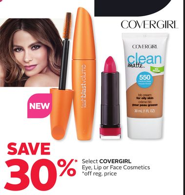 Select Covergirl Eye - Lip Or Face Cosmetics