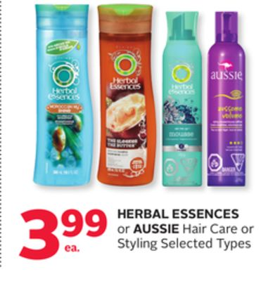 Herbal Essences Or Aussie Hair Care or Styling