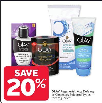 Olay Regenerist - Age Defying or Cleansers