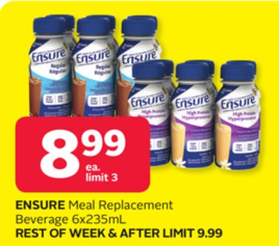 Ensure Meal Replacement Beverage