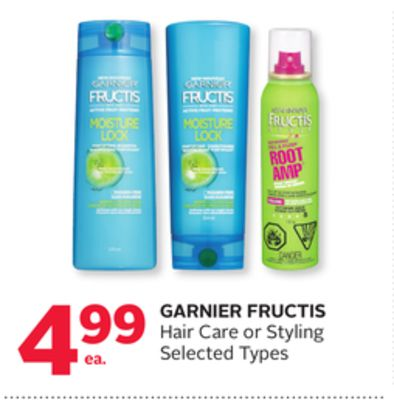 Garnier Fructis Hair Care or Styling