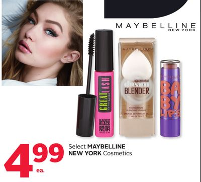 Select Maybelline New York Cosmetics