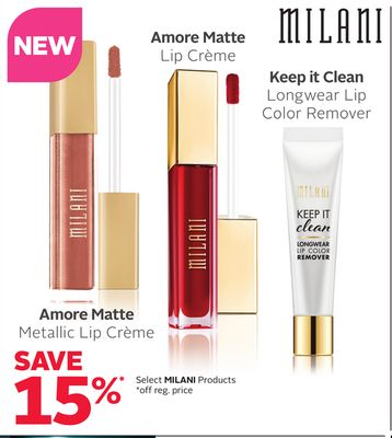 Select Milani Products