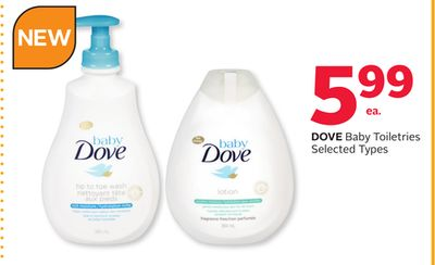 Dove Baby Toiletries