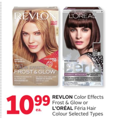 Revlon Color Effects Frost & Glow or L'oréal Féria Hair Colour