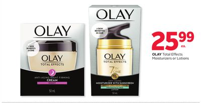 Olay Total Effects Moisturizers or Lotions