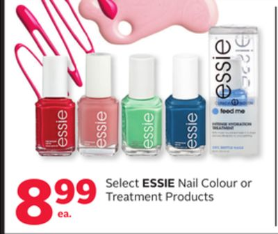 Select Essie Nail Colour or Treatment Products