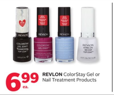 Revlon ColorStay Gel or Nail Treatment Products
