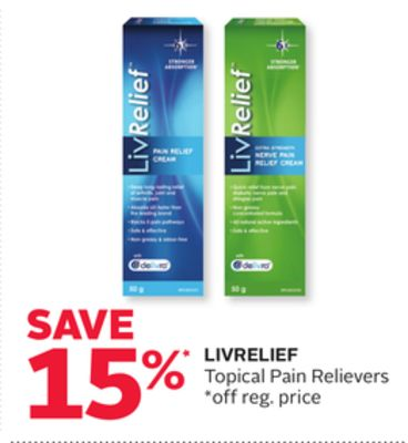 Livrelief Topical Pain Relievers