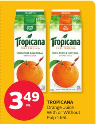 Tropicana Orange Juice