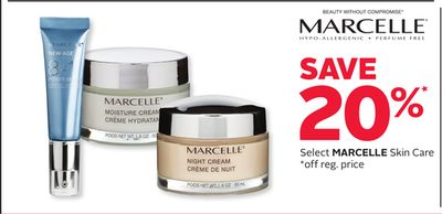Select Marcelle Skin Care