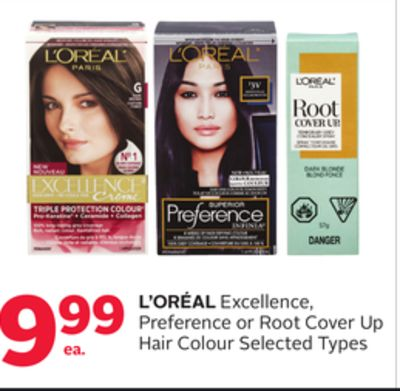 L'Oreal Excellence - Preference or Root Cover Up Hair Colour