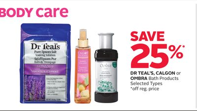 Dr Teal's - Calgon Or Ombra Bath Products